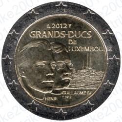 Lussemburgo - 2€ Comm. 2012 FDC Granduca Guillame