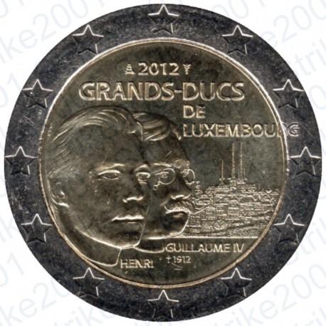 Lussemburgo - 2€ Comm. 2012 Granduchi di Lussemburgo FDC