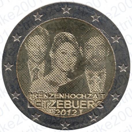Lussemburgo - 2€ Comm. 2012 Matrimonio FDC