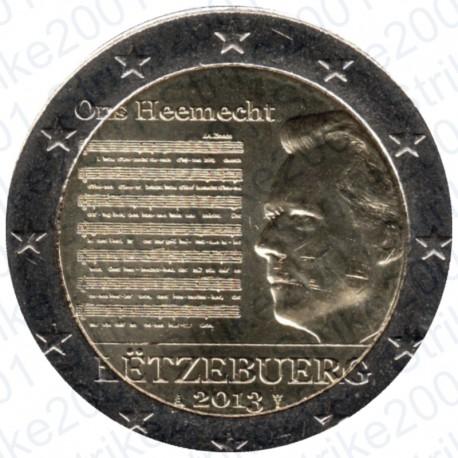 Lussemburgo - 2€ Comm. 2013 Inno Nazionale FDC