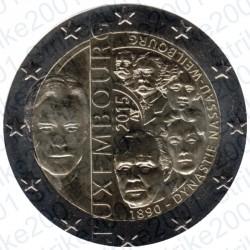 Lussemburgo - 2€ Comm. 2015 FDC Dinastia