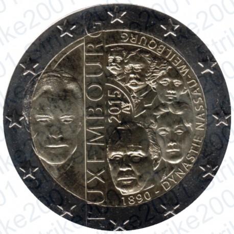 Lussemburgo - 2€ Comm. 2015 Dinastia FDC