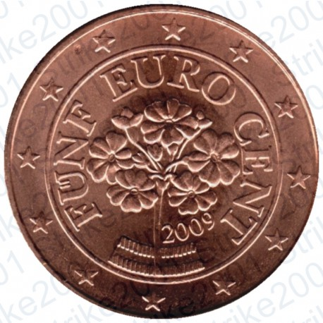 Austria 2009 - 5 Cent. FDC