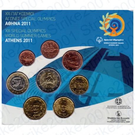 Grecia - Divisionale Ufficiale 2011 FDC
