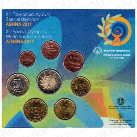 Grecia - Divisionale Ufficiale 2011 COMM FDC