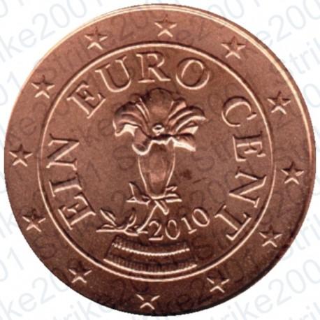 Austria 2010 - 1 Cent. FDC