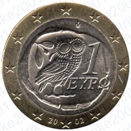Grecia 2002 - 1€ FDC