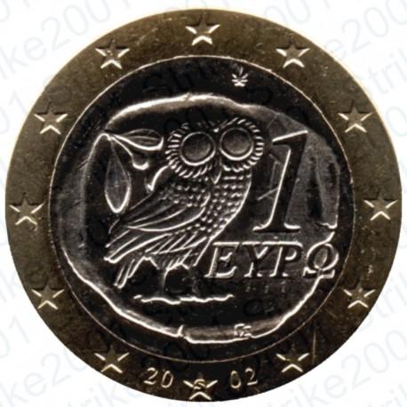 Grecia 2002 - 1€ Zecca Estera FDC