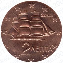 Grecia 2002 - 2 Cent. FDC
