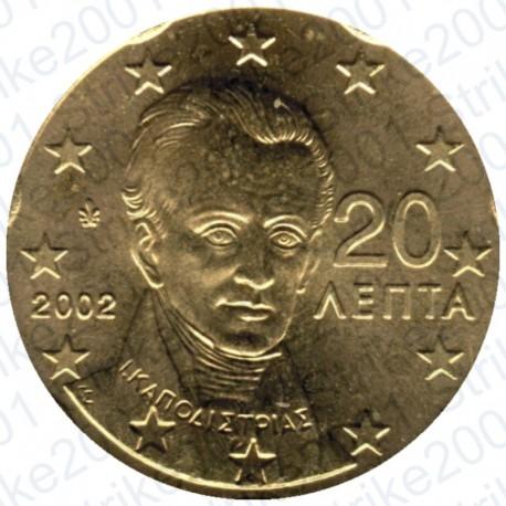 Grecia 2002 - 20 Cent. FDC