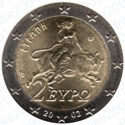 Grecia 2002 - 2€ FDC