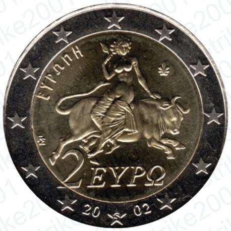 Grecia 2002 - 2€ Zecca Estera FDC