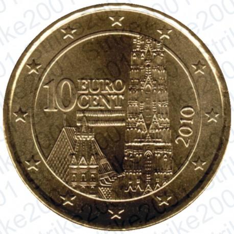 Austria 2010 - 10 Cent. FDC