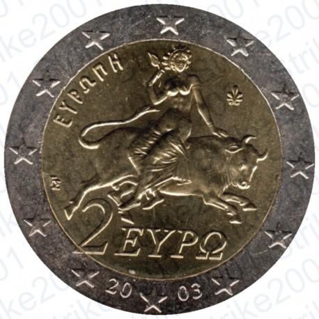Grecia 2003 - 2€ FDC