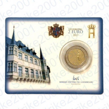 Lussemburgo - 2€ Comm. 2013 in folder FDC Inno Nazionale