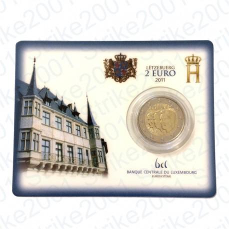 Lussemburgo - 2€ Comm. 2011 in folder FDC Granduchi