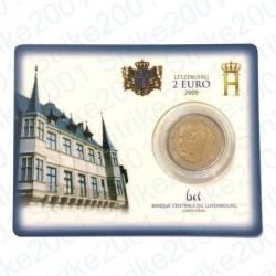 Lussemburgo - 2€ Comm. 2009 FDC Principi Henri e Charlotte in Folder