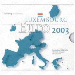 Lussemburgo - Divisionale Ufficiale 2003 FDC