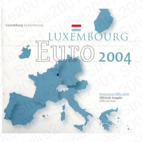 Lussemburgo - Divisionale Ufficiale 2004 FDC