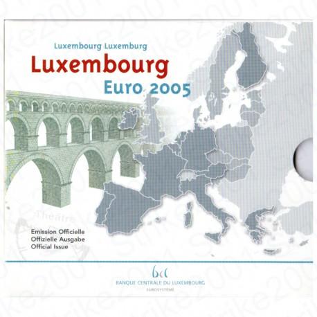 Lussemburgo - Divisionale Ufficiale 2005 FDC