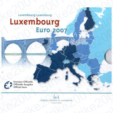 Lussemburgo - Divisionale Ufficiale 2007 FDC