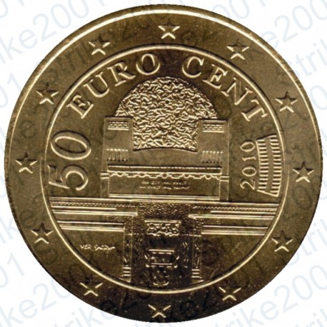 Austria 2010 - 50 Cent. FDC