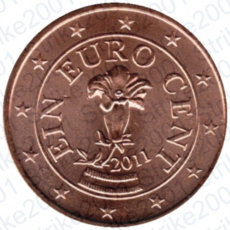 Austria 2011 - 1 Cent. FDC