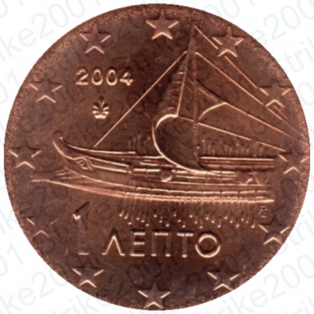 Grecia 2004 - 1 Cent. FDC
