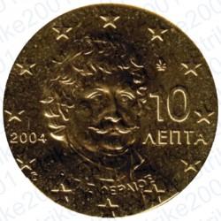 Grecia 2004 - 10 Cent. FDC