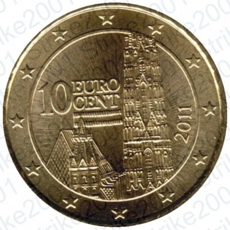 Austria 2011 - 10 Cent. FDC