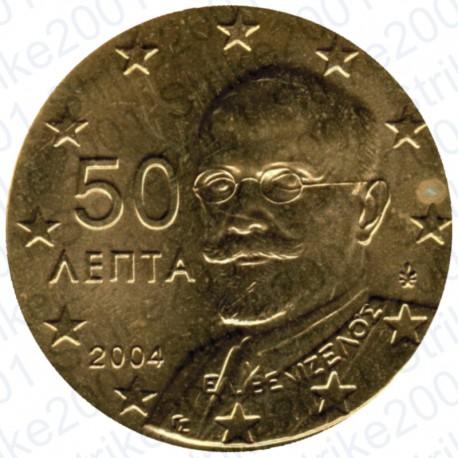Grecia 2004 - 50 Cent. FDC