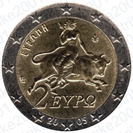 Grecia 2005 - 2€ FDC