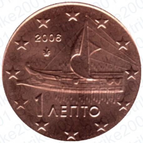 Grecia 2006 - 1 Cent. FDC