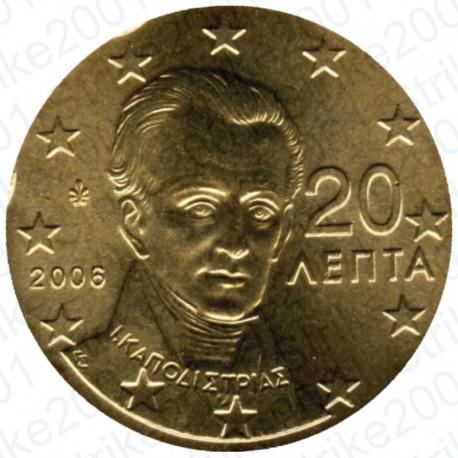 Grecia 2006 - 20 Cent. FDC