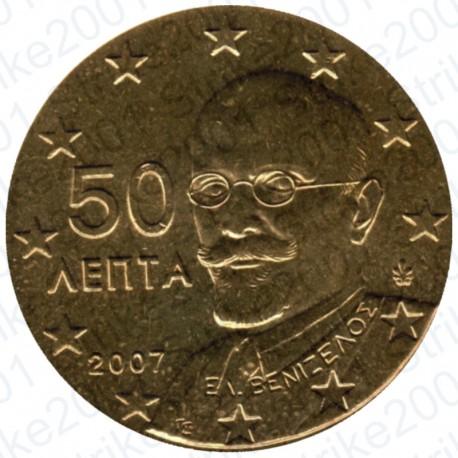 Grecia 2007 - 50 Cent. FDC