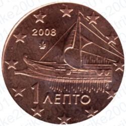 Grecia 2008 - 1 Cent. FDC