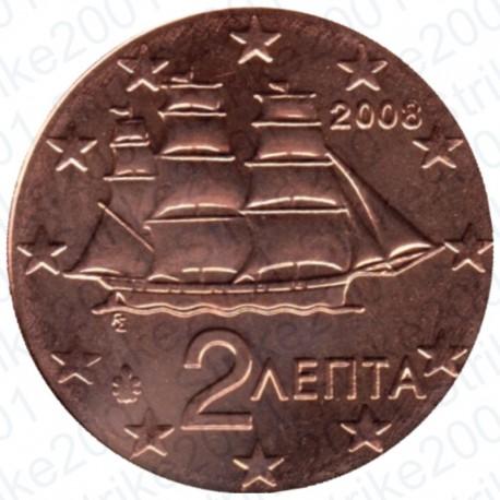 Grecia 2008 - 2 Cent. FDC
