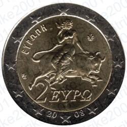 Grecia 2008 - 2€ FDC