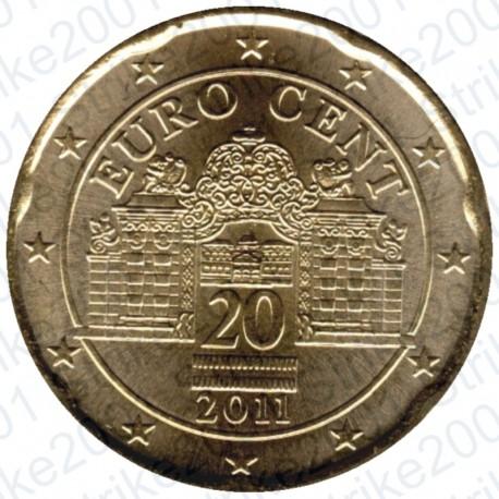 Austria 2011 - 20 Cent. FDC