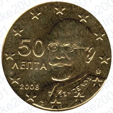 Grecia 2008 - 50 Cent. FDC