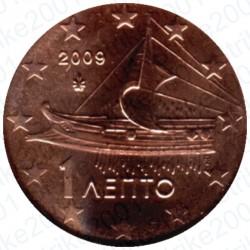 Grecia 2009 - 1 Cent. FDC