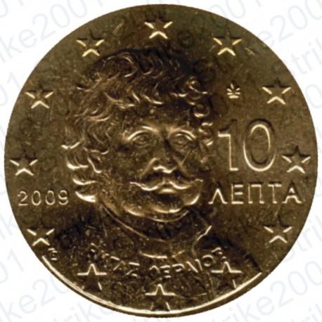 Grecia 2009 - 10 Cent. FDC