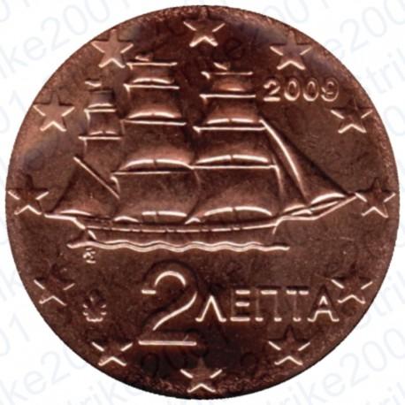 Grecia 2009 - 2 Cent. FDC