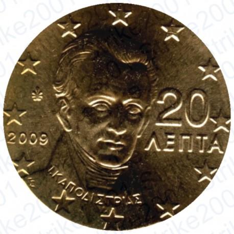 Grecia 2009 - 20 Cent. FDC