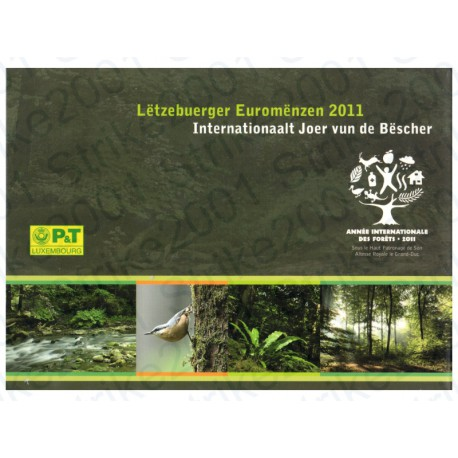 Lussemburgo - Serie Celebrativa Poste 2011 FDC