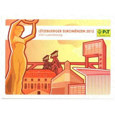 Lussemburgo - Serie Celebrativa Poste 2012 FDC