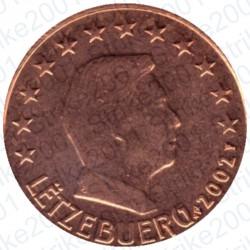 Lussemburgo 2002 - 1 Cent. FDC