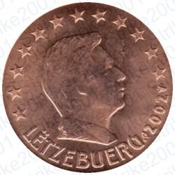 Lussemburgo 2002 - 2 Cent. FDC