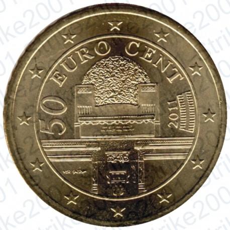 Austria 2011 - 50 Cent. FDC