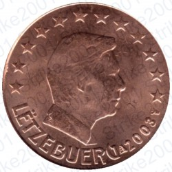 Lussemburgo 2003 - 2 Cent. FDC